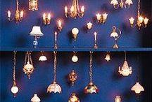 lightening a dolhouse idea / miniatures