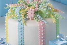 Sweet cakes.