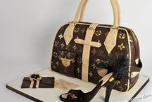 Shoes - Handbags cakes.