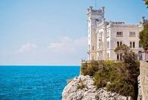 POI Trieste – Gorizia / Tutto ciò che c'è tra Trieste e Gorizia, città comprese - What you will see cycling from the magic Trieste to the asburgic Gorizia, passing through the Carsico Plateau.
