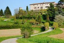 POI San Daniele – Udine / Tutto ciò che c'è tra San Daniele e Udine, città comprese - What you will see cycling from the ham-town San Daniele to the elegant Udine