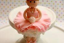 Ballerina cakes.