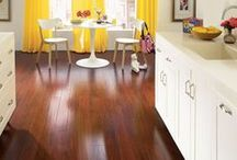 Kitchen Flooring Inspiration / Get creative in the kitchen with Olson Rug of Chicago.