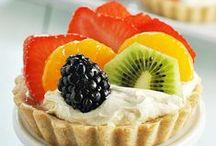 Fruit tartletes.
