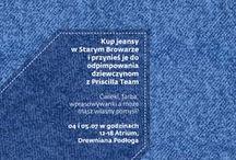 Pimp my JEANS / Spersonalizuj swoje jeansy ze Starym Browarem! 4-5 lipca zapraszamy na Drewnianą Podłogę w Atrium. Więcej informacji: http://bit.ly/PimpMyJeansStaryBrowar