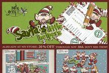 """Elf on The Shelf """"Santa's Little Helpers"""" by Paty Greif"""
