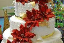 Flowerdecorated Cakes