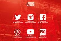 Liverpool FC Social Media 2015/2016 / All my LFC related Social media work I published on both my Facebook, Twitter and Instagram.