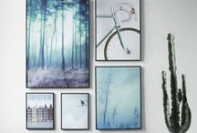 Artwork for interiors / Artwork is the most beautiful and personal finishing touch for a decorating scheme.  Statement pieces, collections of artwork of styling a personal photo wall - there is lots of inspiration on this board