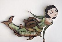 mermaids / by Suzi Gregersen