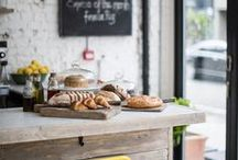 Farmers' Markets & Cafes / Cute inspiration for the market or small cafés decor