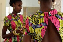 This is Africa! / Wax fabrics. Kente. Vlisco. Colors. I love african clothes: they are a hymn to life!