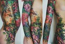 engraved / tattoos