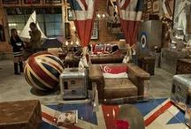 Rule Britannia / Images and products bearing the Union Flag (Union Jack when flown at sea) and the British Royal Family.