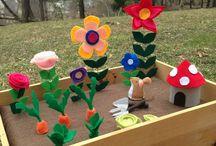 Kukka-askartelut