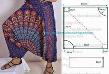 Sewing Patterns and Fashion Style Sheets