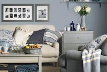 Beautiful Living -  Home Sweet Home /  A collection of the very best living room ideas including paint, designs, patterns and furniture to make your dream living space.