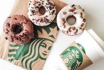 Starbucks Drinks / A collection of Starbucks drinks.