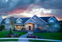 Custom Home Exteriors / Lane Myers Construction takes great pride in being one of the premier Utah Custom Home Builders.