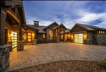 Glenwild Rambler - Park City / Located in the Glenwild golf community of Park City, this mountain contemporary rambler possesses the luxury of upscale design, while still holding the comfort of a ranch home. In collaboration with Osmond Designs and TK Boss, this custom home was designed as an investment, with each aspect hand picked by the Lane Myers Construction team, and then furnished with the same careful attention to minute detail. We featured this home in the 2013 Park City Area Showcase of Homes.