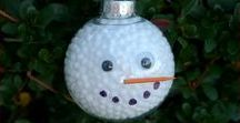 Snowmen and Snowman Themed Crafts / Snowman and snowmen craft projects and sewing projects. DIY Snowman crafts!