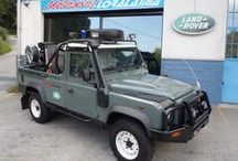 LAND ROVER DEFENDER 110 SUPER PICK UP FIRE RESCUE / LAND ROVER DEFENDER 110 SUPER PICK UP FIRE RESCUE  LAND ROVER SPECIAL EQUIPMENTS BY MOTORSPORTLORALAMIA