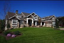 Field of Dreams - Sandy / Lane Myers Construction featured this 10,000 square foot rambler, located in Sandy, in the Salt Lake Parade of Homes. At the time we constructed this masterpiece, the craftsman style hadn't quite gained popularity and for this reason, we heard a lot of buzz when we unveiled this home to the public. This is a home that is a favorite among our potential clients and to this day, we still get inquiries about it several times a week.