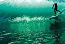 Water and summer / El surf y muchas cosas sobre el mar o bajo el agua