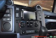 Land Rover Defender TD4 Alpine Integrated Navigation System 2014 / Land Rover Defender TD4 all models 2007 onward Integrated Navigation System , with GPS Map , Bluetooth Telephone ; digital DAB Radio , made for Iphone/Ipod and Reverse Camera  Available in our workshop