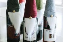 Wine Christmas / DIY Creative Craft for Christmas Ideas from the Web