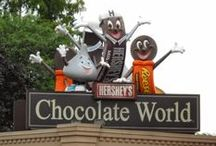 Hershey Pennsylvania / This travel board is all about the Hershey in Pennsylvania. Learn about lovely places to stay, fun things to do and exciting things to see while traveling to the Sweetest Place on Earth - #HersheyPA