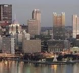 Pittsburgh Pennsylvania / This travel board is all about Pittsburgh in Pennsylvania. Learn about lovely places to stay, fun things to do and exciting things to see while traveling to the Steel City in Pennsylvania