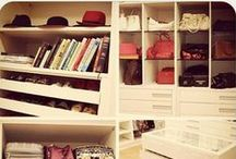 C L O S E T ★ / Inspirações para decorar ou reformar o seu closet.