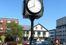 Town Clocks in the United States / Official Small Town and City Clocks in the United States