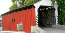 Covered Bridges in the United States / Old Wooden Covered Bridges in the United States