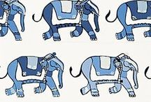 animal motif inspiration / inspirations for my knitting motifs