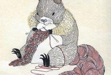 knitting, knitting and more knitting