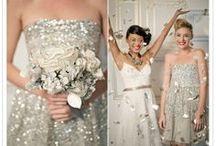Glitter Weddings / For the bride who has glitter running through their veins.