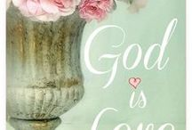 GOD IS LOVE / He Hears, He Restores, He Rescues, He Heals!  He is the Good Shepherd. He is the Way. He is the Life. He is the Door to Heaven. My Saviour, My Companion, My Lord and King! My Living Water, My Daily Bread. I am forgiven and very Blessed! Thank you Lord!
