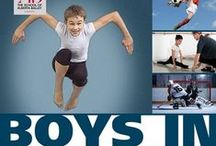 Boys in Ballet / Boys in ballet still facing stigma, but stereotypes are fading...