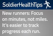 Soldier Health Tips / Quick bits of healthy advice for you.