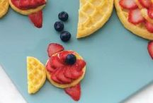 Food Fun / You're never too old to play with your food. Get creative in the kitchen with these fun ideas!