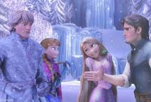 Tangled+Frozen / by Jess Taggart