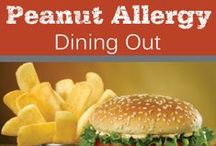 Peanut Allergy Dining Out / Peanut Allergy Dining Out #peanutallergies #nutallergies #restaurants #dining #eatingout #diningout #peanutallergymom