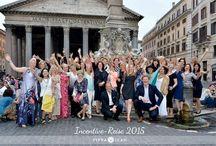 Incentive Reise Barcelona - Neapel - Rom / Es wieder einmal eine unvergessliche Reise  mit Pippa&Jean