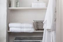 Home Spa & Bathroom Inspirations / Be inspired by charming spas and bathrooms from all over to create you own perfect home spa where you can relax and find yourself