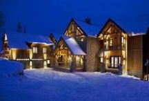 LJ PROJECT┊CANADA / Voted world's best ski property two years running. Currently the largest private ski lodge in Canada. Interior and architectural design ๏ Revelstoke, Canada