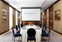 LJ PROJECT┊BERKELEY HOTEL / Touted as the Queen's favourite London hotel room, possibly as her Great Grandfather's race horse Golden Reaper, is configured on the dining room wall ๏ London, England