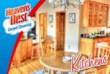 Kitchens / Tim Nemeth, Local Heaven's Best Carpet Cleaning, Serving Down River, Northern And Western Suburbs.  Our carpet cleaning process will never leave a soapy residue. Your carpet will be fresh and clean. Our carpet cleaning process will allow your carpet to DRY IN 1 HOUR. (734) 692-8990 or (313) 402-4476