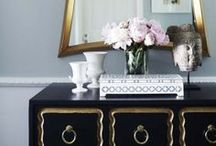 Styling - Hallways & Vignettes / Styling entry's, sideboards and vignettes.